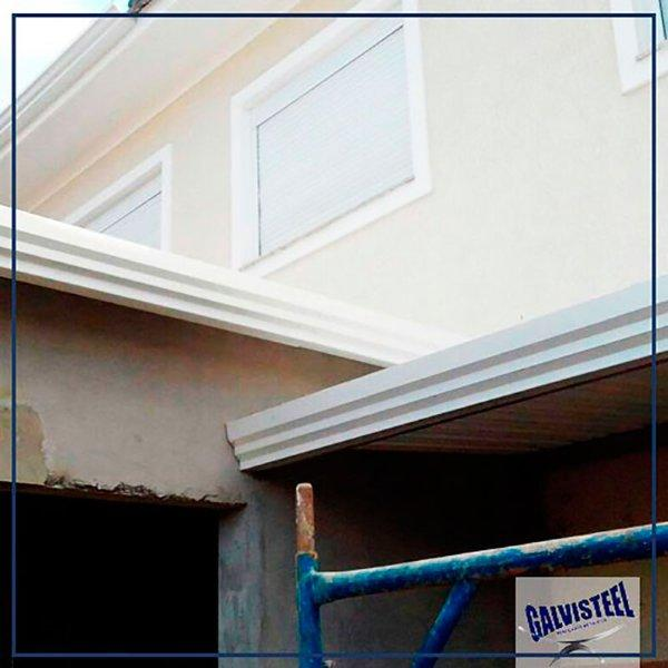 Calhas galvanizadas para telhados