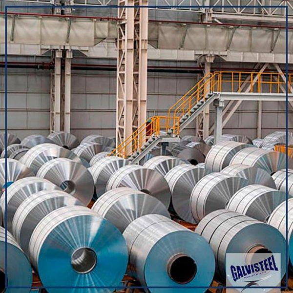 Distribuidora de bobina galvanizada