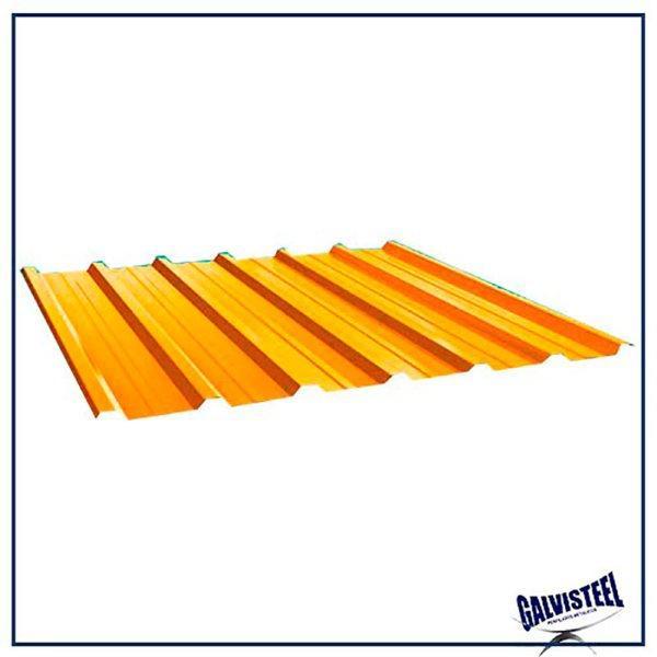 Telha trapezoidal simples